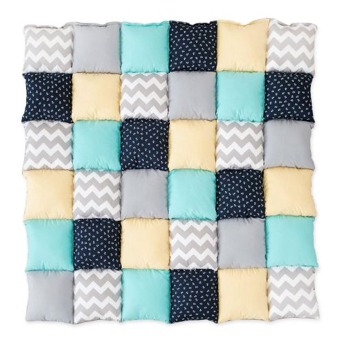 Saltea Patchwork Chevron & Anchors