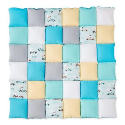 Saltea Patchwork Racing Rabbits Mint