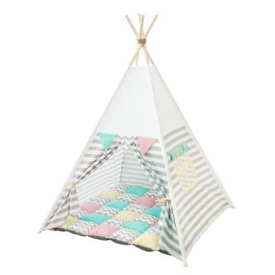 Cort teepee + saltea Stripes & Flags