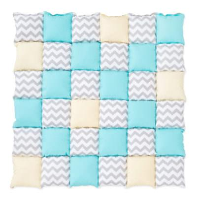Saltea Patchwork Gray Chevron