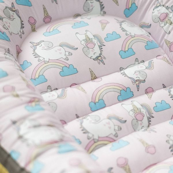 Baby Nest Unicorns & Ice Cream (pink)