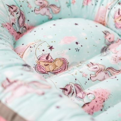 Baby Nest Dreamy Unicorns (mint)